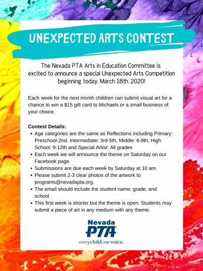 Unexpected Arts Competition